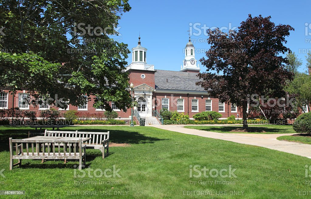 Central Connecticut State University stock photo