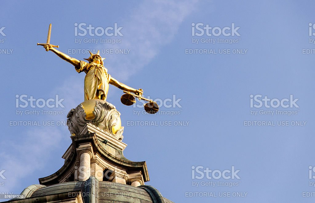 Central Criminal Court stock photo