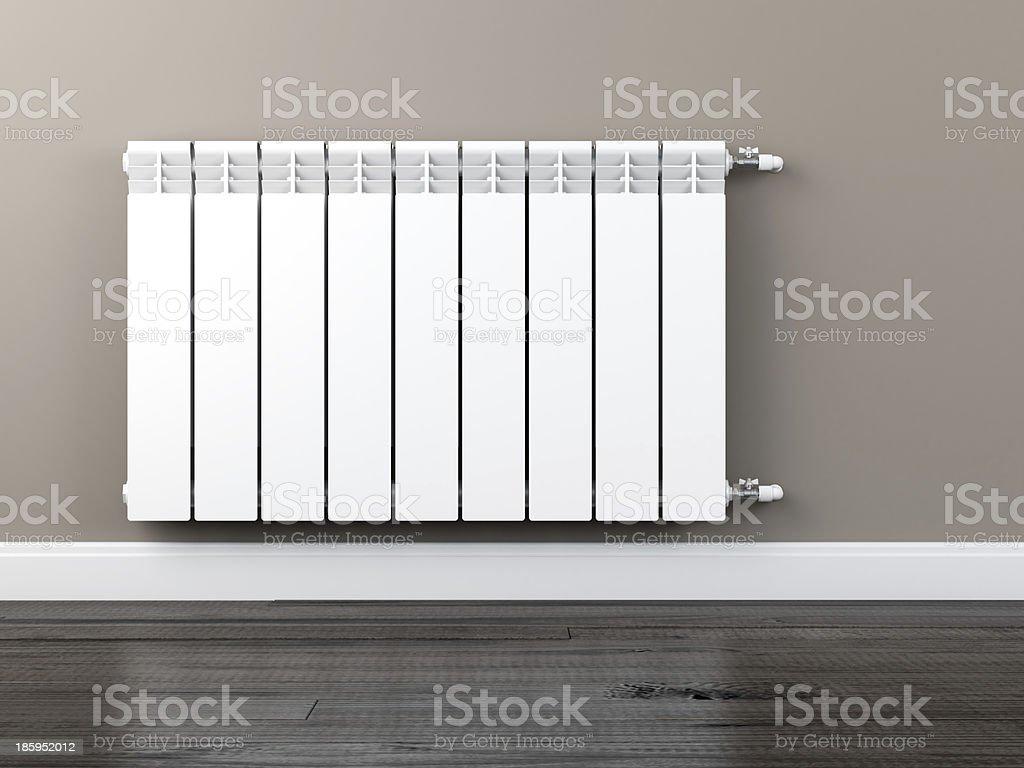 central heating radiator royalty-free stock photo