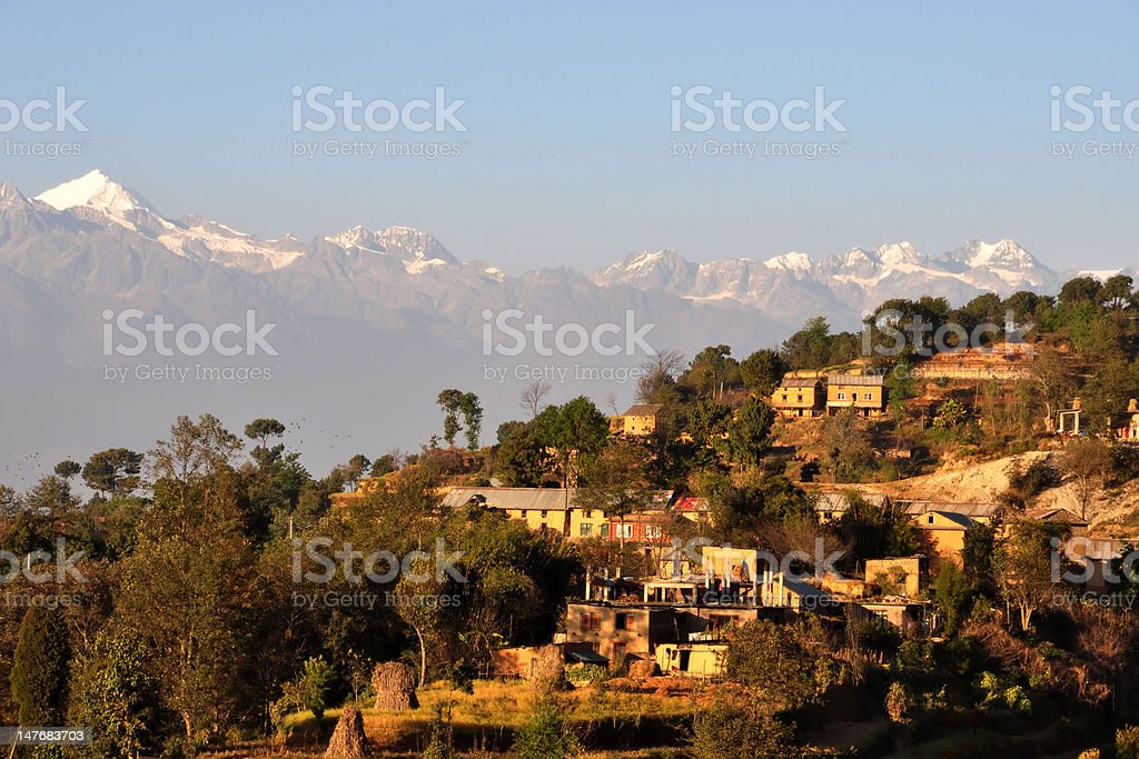 Central Himalayan Beauty royalty-free stock photo