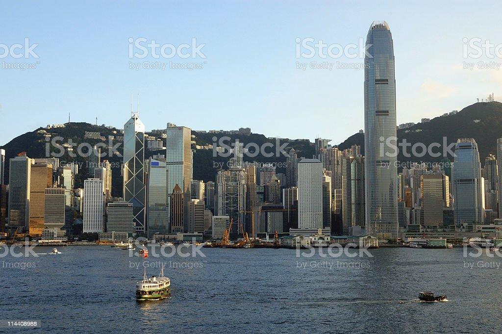 Central, Hong Kong royalty-free stock photo