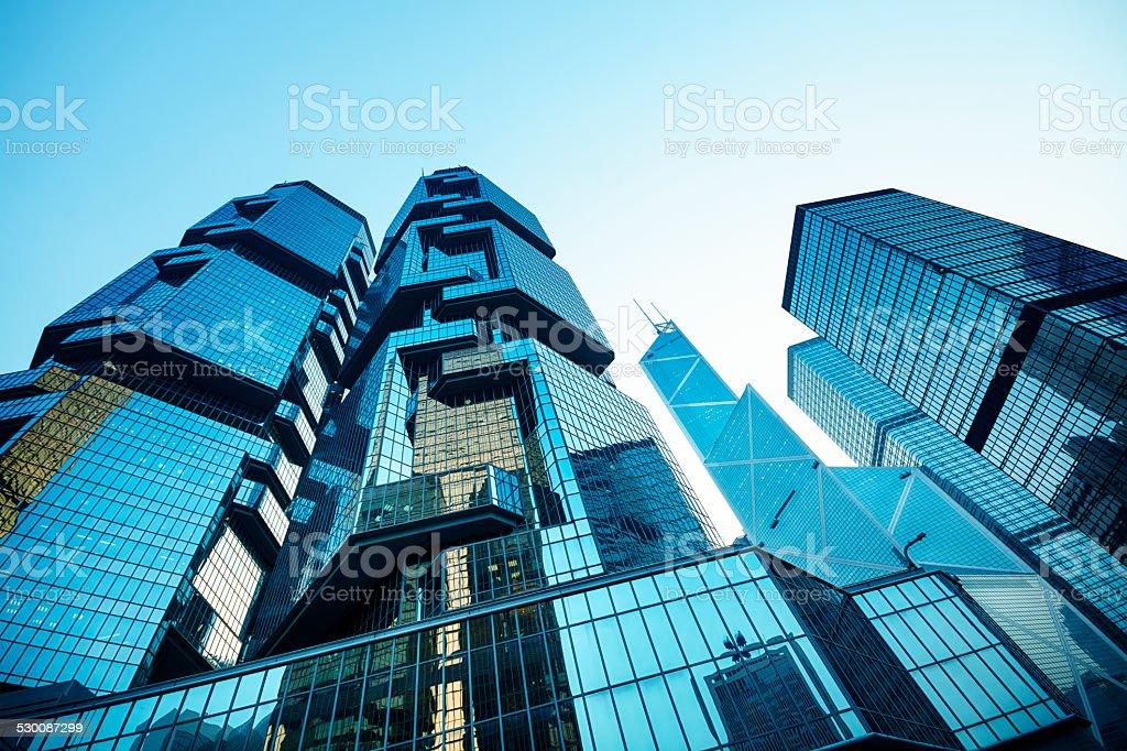 Central Hong Kong stock photo