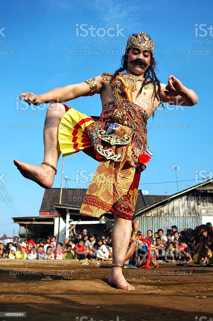 Central Java Traditional Dance stock photo