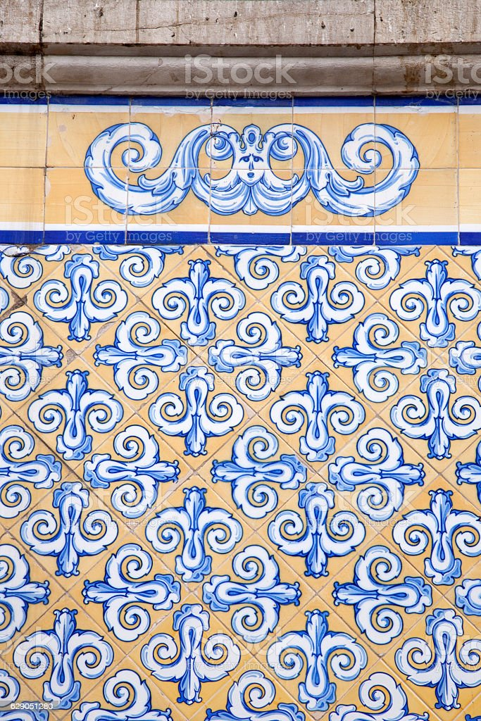 Central Market Facade; Valencia stock photo