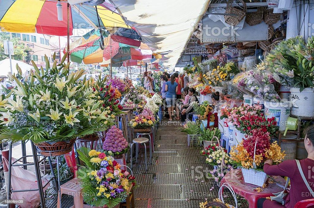 Central Market In Phnom Penh Cambodia royalty-free stock photo