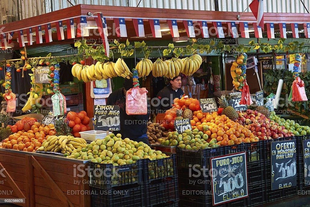 Mercado Central stock photo