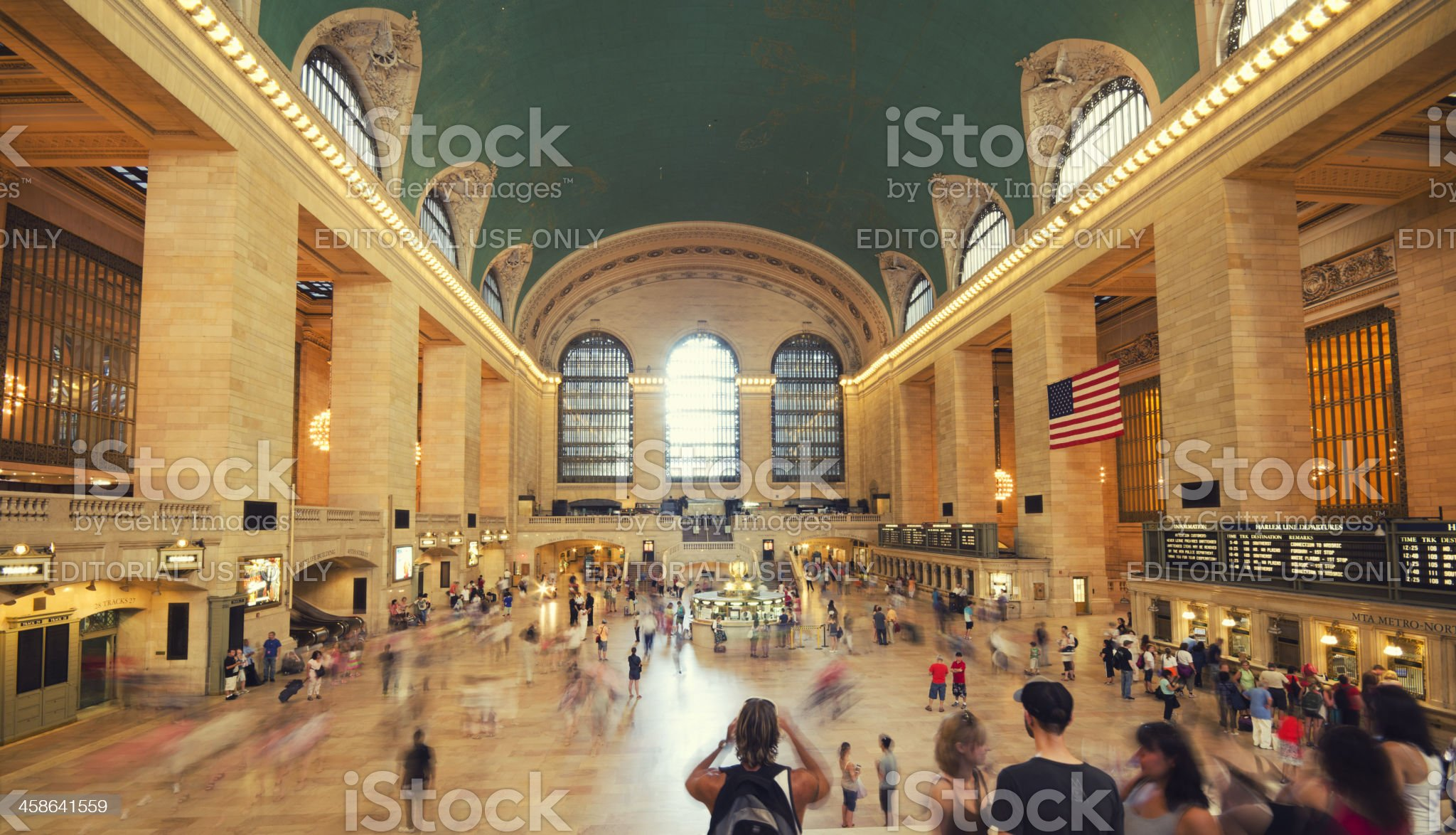 Central New York City Station royalty-free stock photo