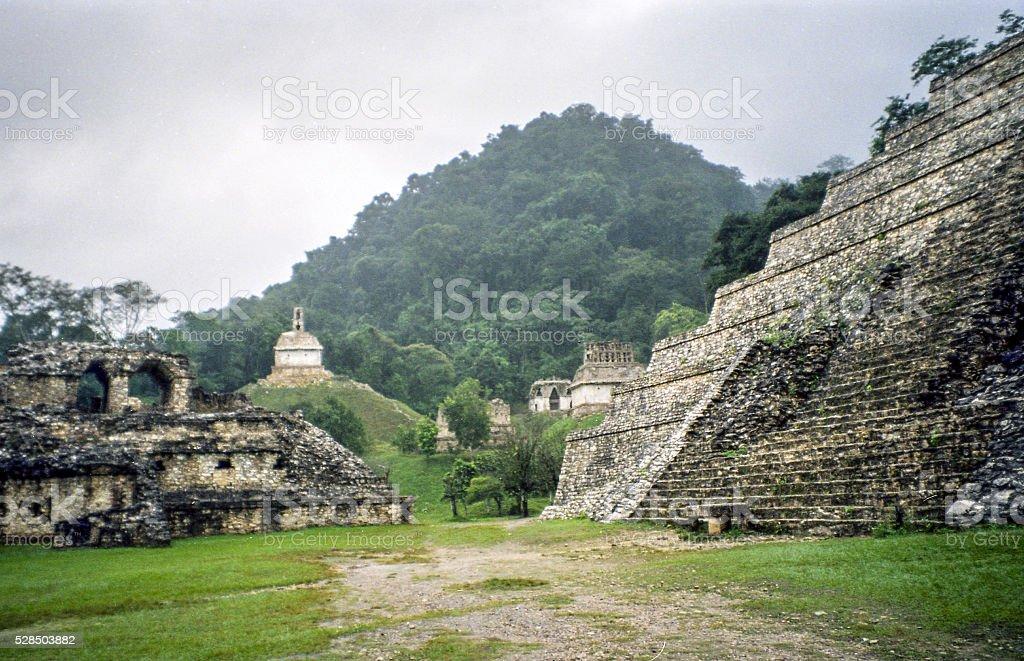 Central Palenque stock photo