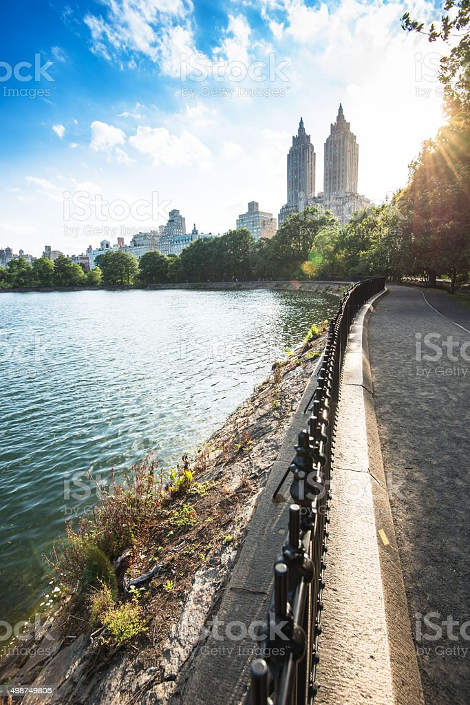 Central park in new york city stock photo