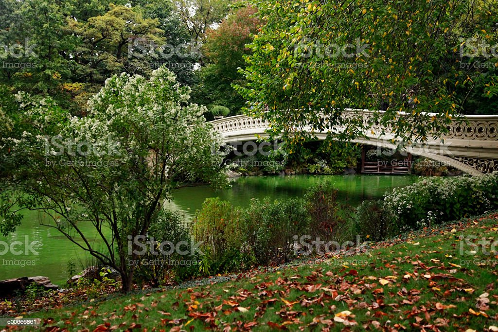 Central Park in New York royalty-free stock photo