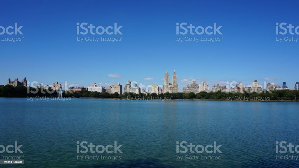 Central Park in New York stock photo