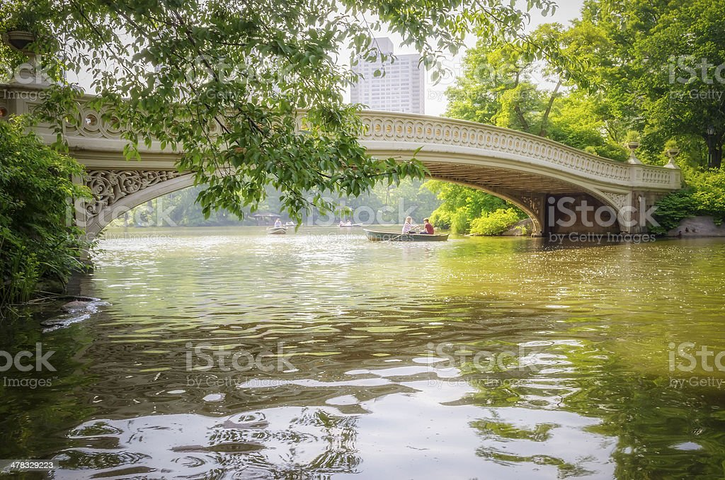 Central Park, Manhattan royalty-free stock photo