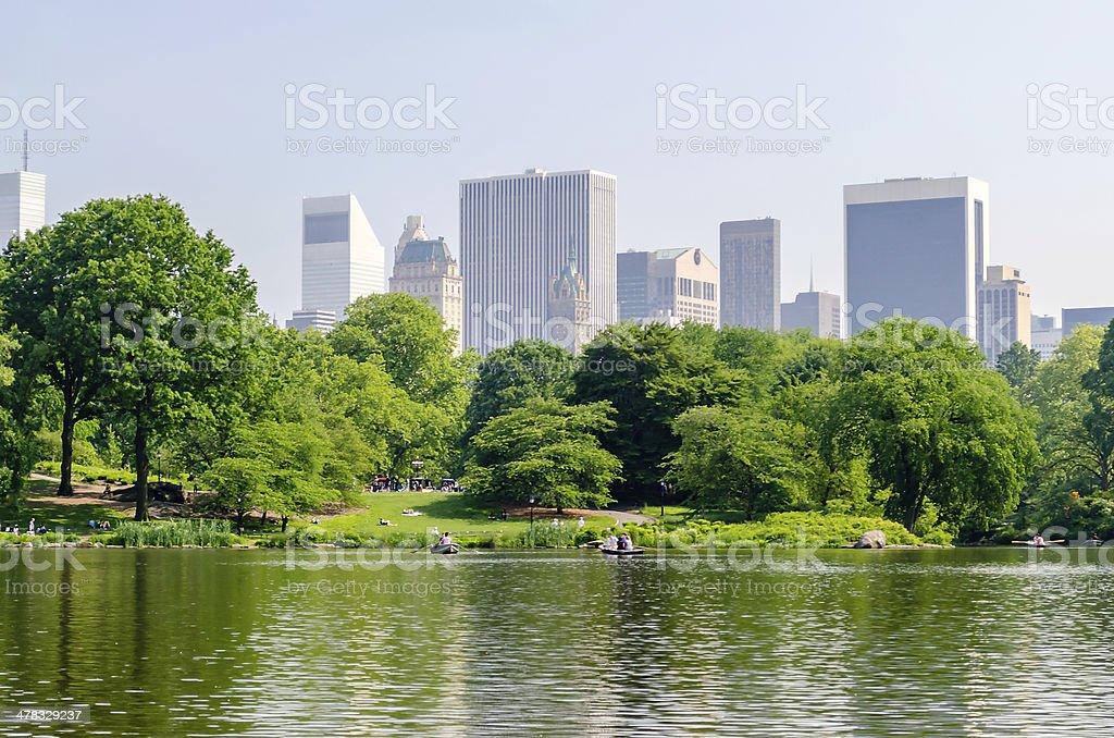 Central Park, Manhattan royalty-free stock photo