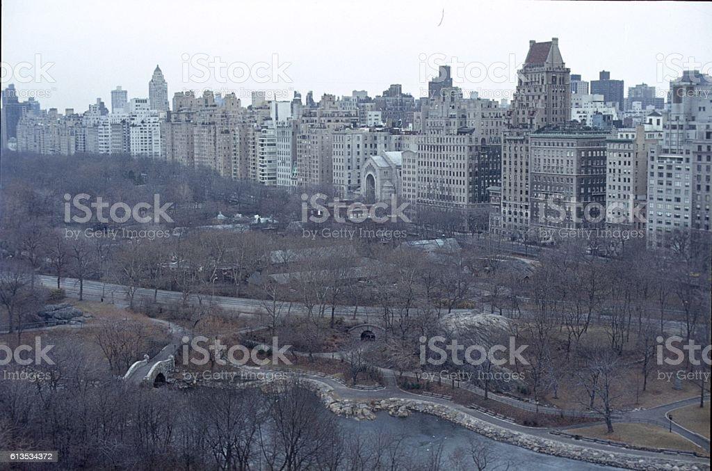 Central Park, New York City, 1982 stock photo