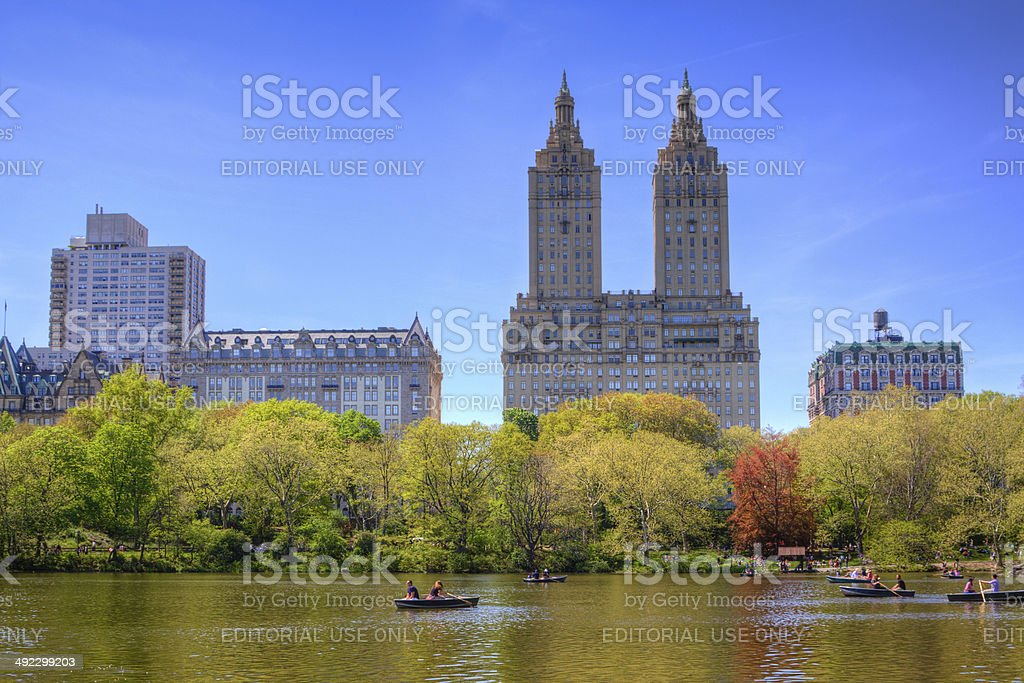 Central Park, New York City. royalty-free stock photo