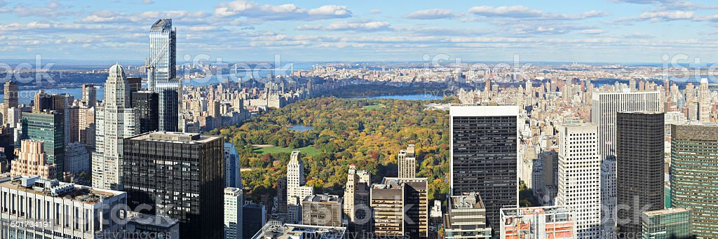 Central Park - New York City stock photo