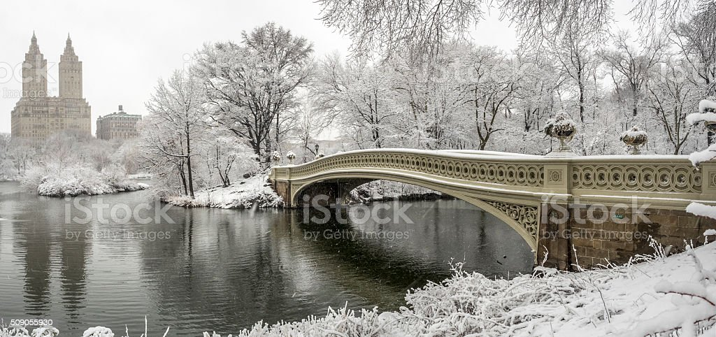 Central Park, New York City stock photo