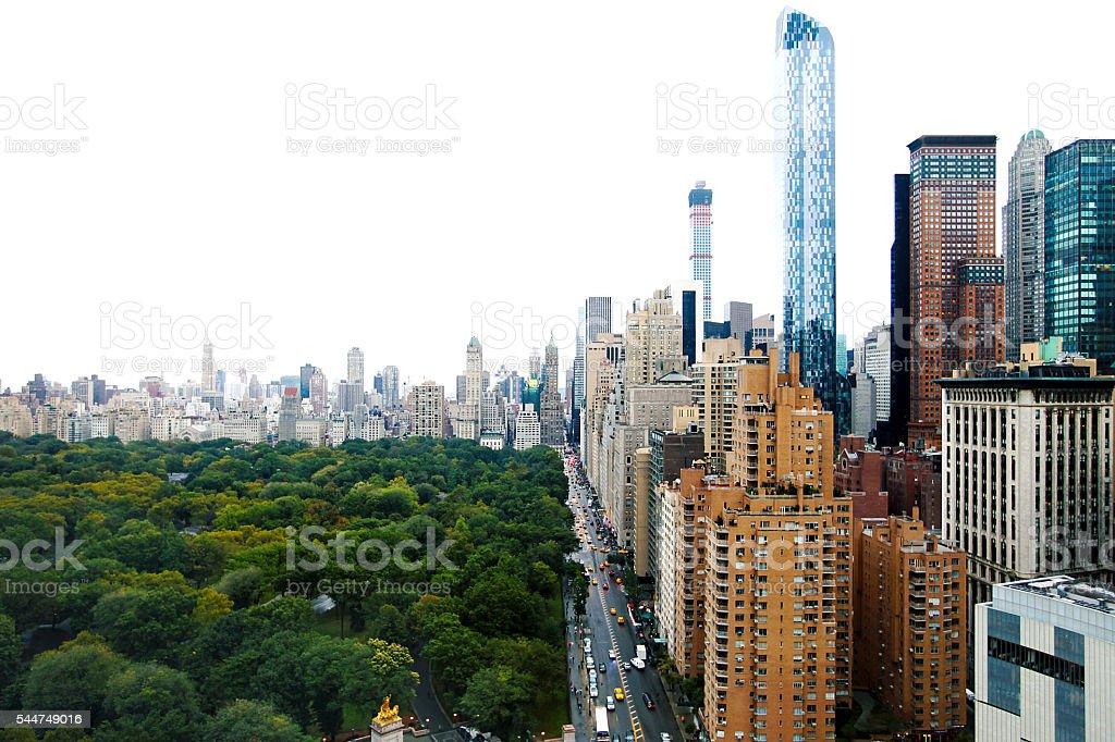 Central Park New York City stock photo
