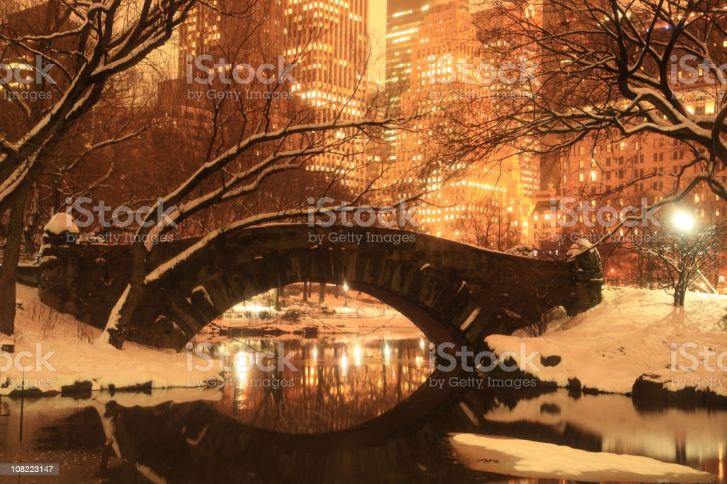 Central Park, New York royalty-free stock photo
