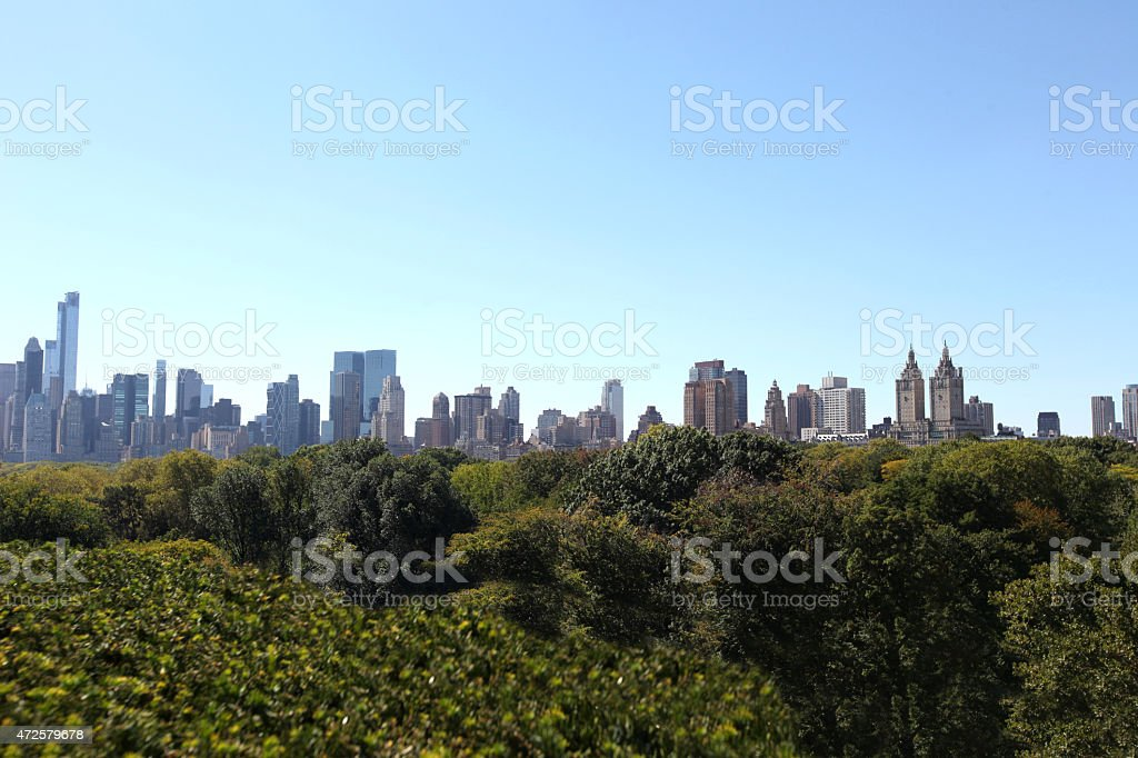 Central Park NYC stock photo