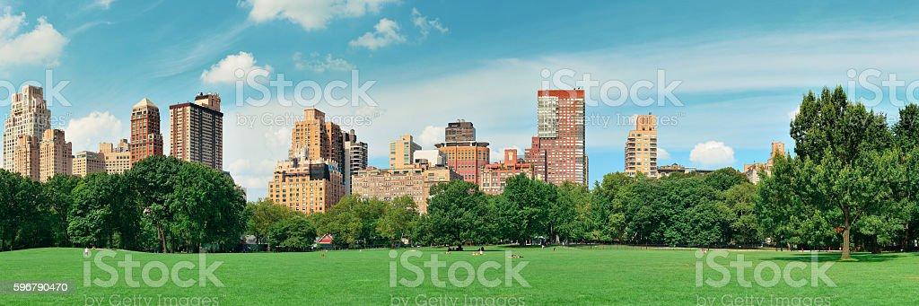 Central Park Spring stock photo