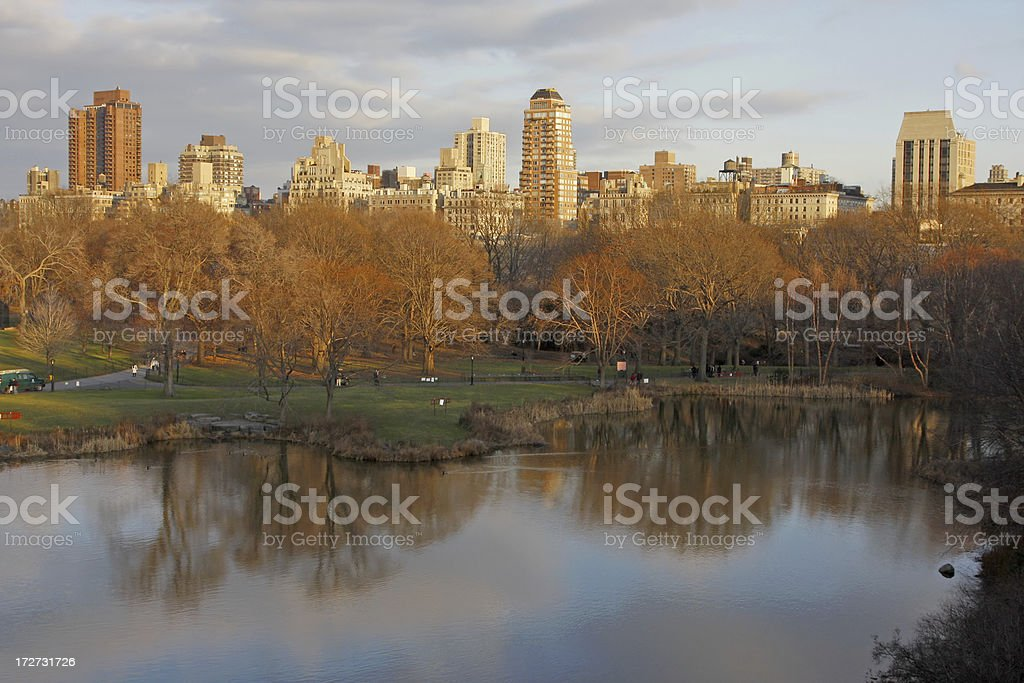 Central Park view # 3 royalty-free stock photo
