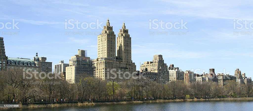 central park west royalty-free stock photo