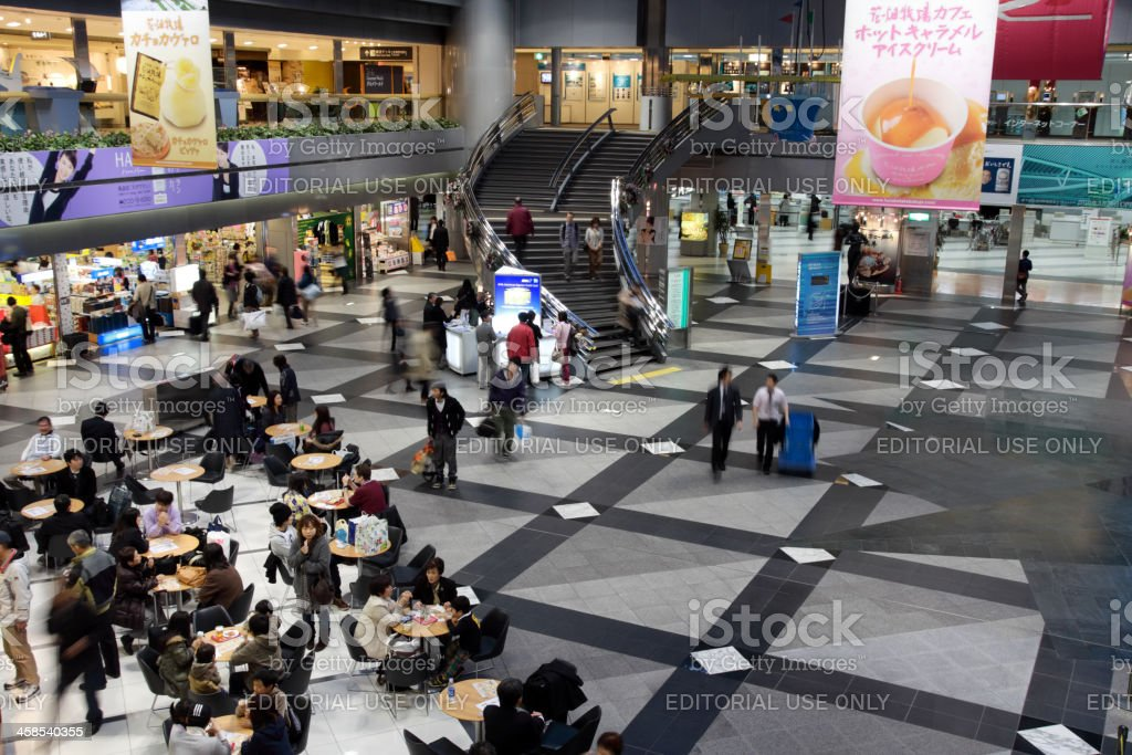 Central Plaza New Chitose Airport Terminal Lizenzfreies stock-foto
