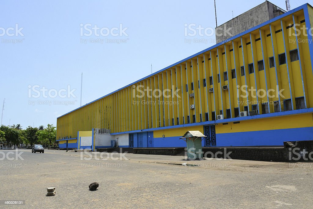 Central Post Office, La Poste - Douala, Cameroon stock photo