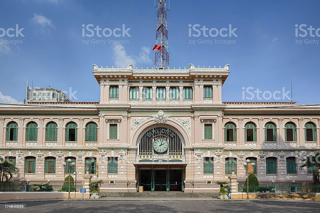 Central post office royalty-free stock photo