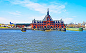 Central Railroad of New Jersey Terminal in Hudson Waterfront
