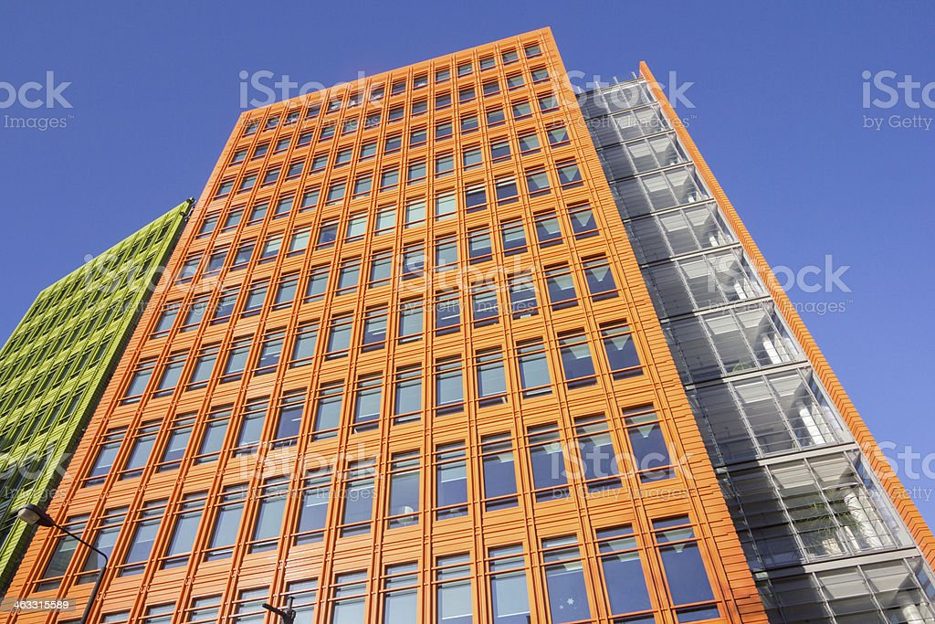 Central St Giles in Camden, London royalty-free stock photo