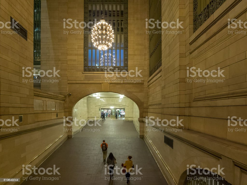 Central Station in New York royalty-free stock photo