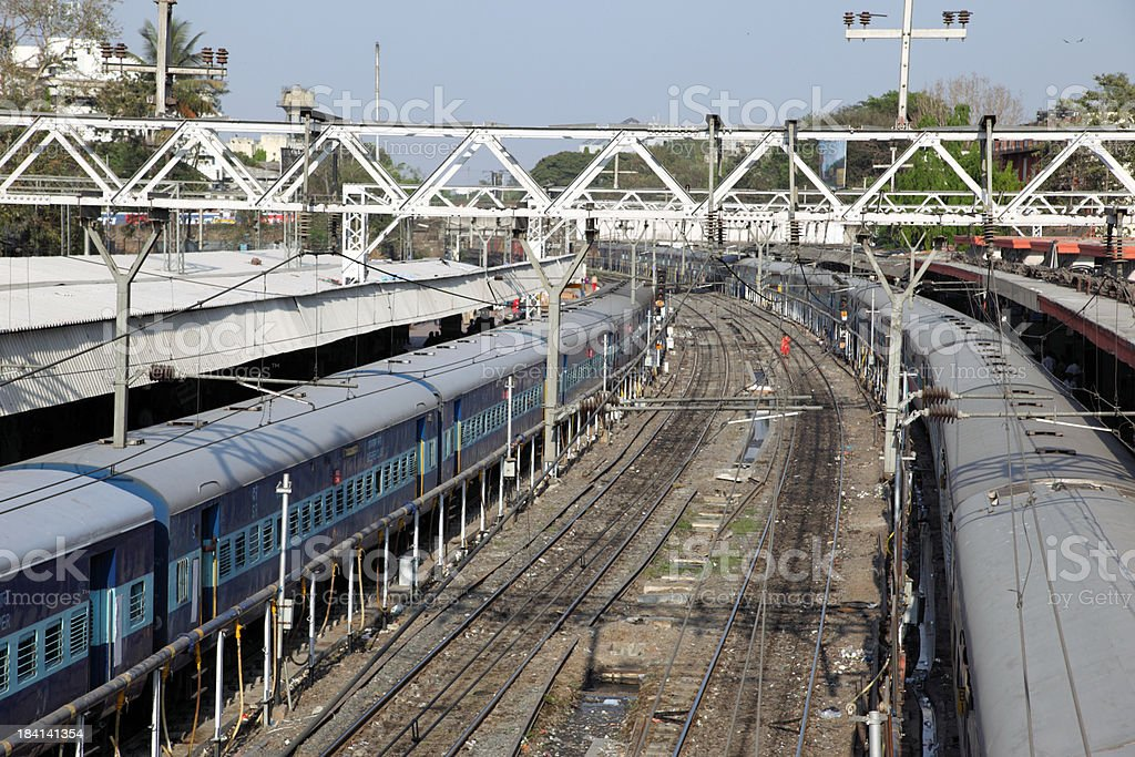 Central station in Pune stock photo