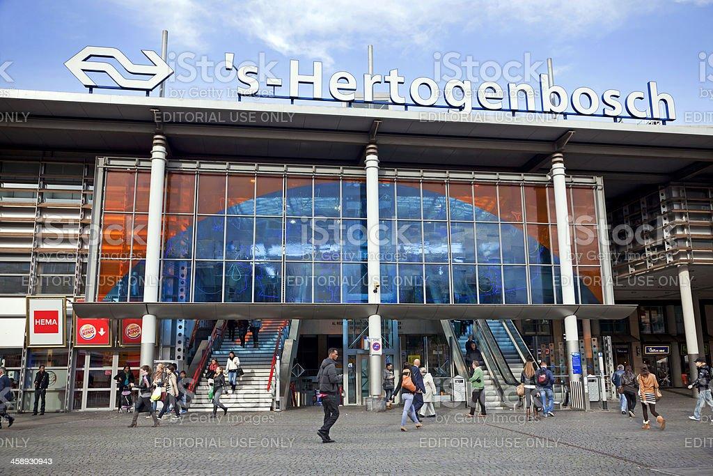 Central Station 's-Hertogenbosch stock photo