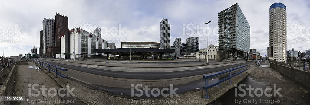 Central Station The Hague stock photo