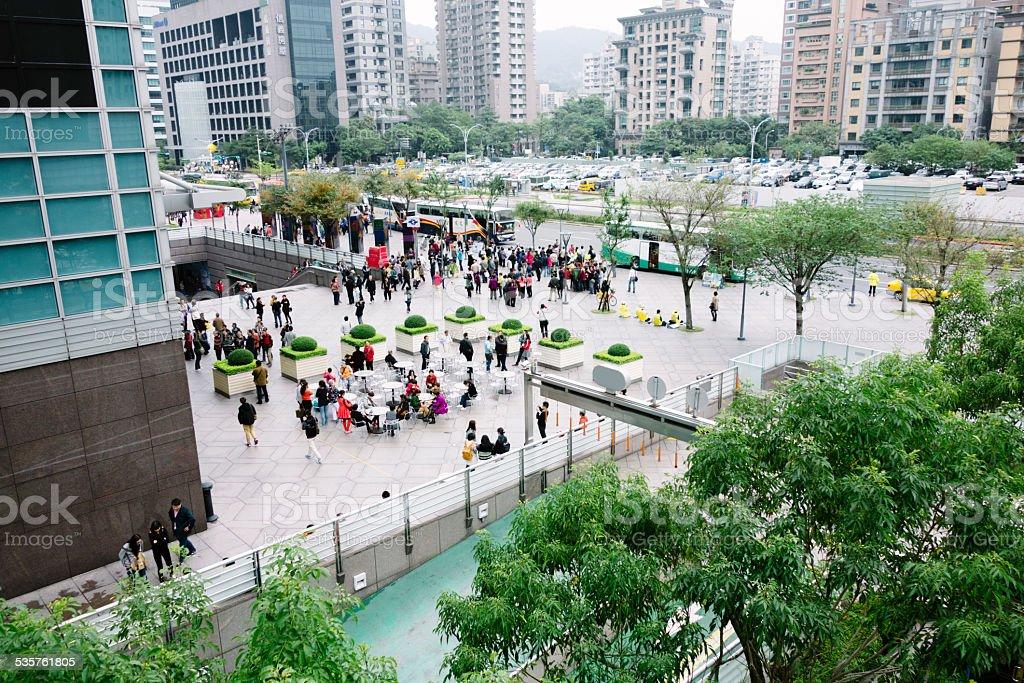 Central Taipei, Taiwan stock photo