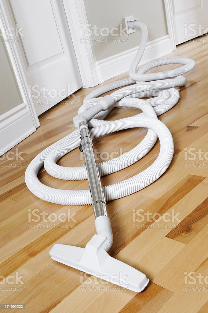 Central vacuum cleaner stock photo