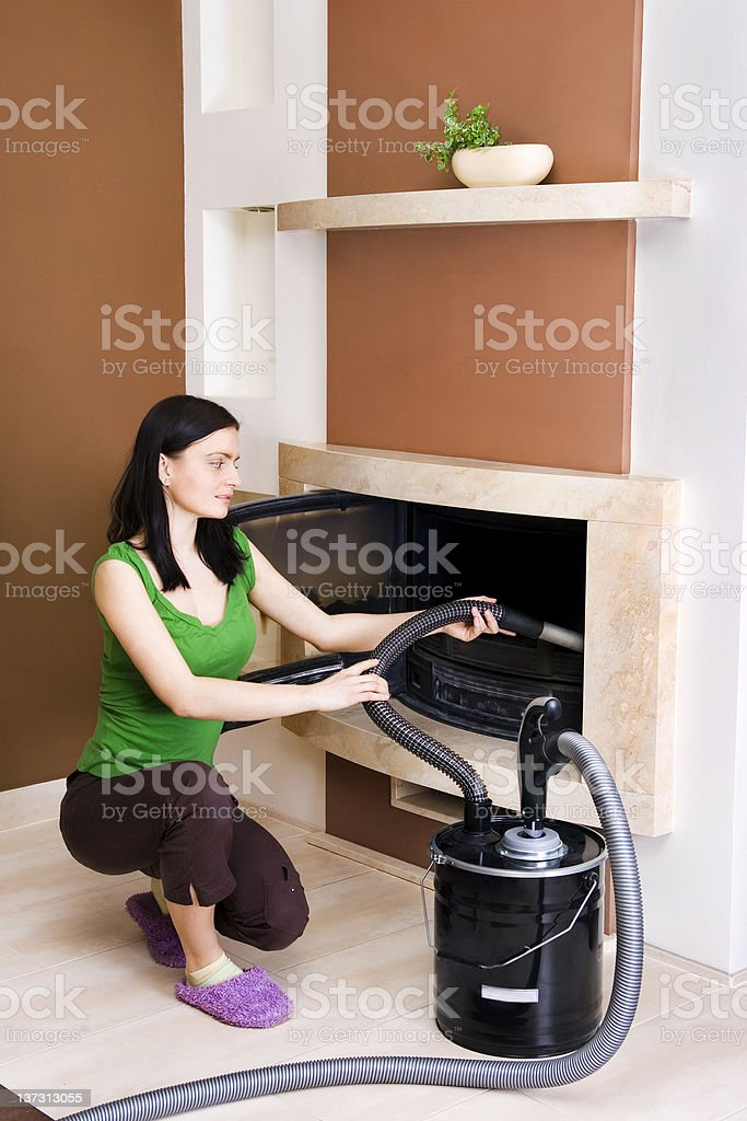 Central vacuum series - Ash remover royalty-free stock photo