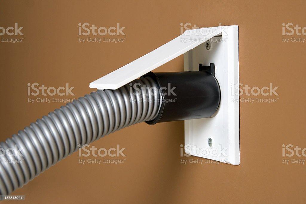 Central vacuum series stock photo