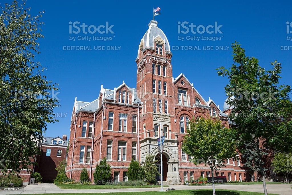 Central Washington University Campus, Ellensburg USA stock photo