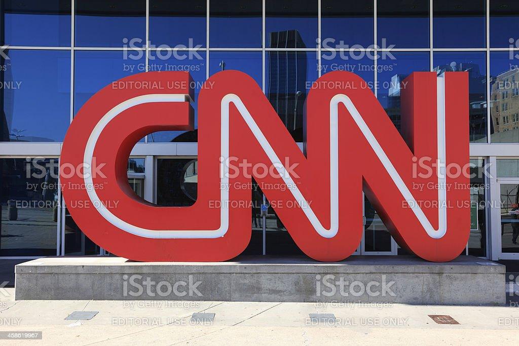 CNN Centre, Atlanta, Georgia stock photo