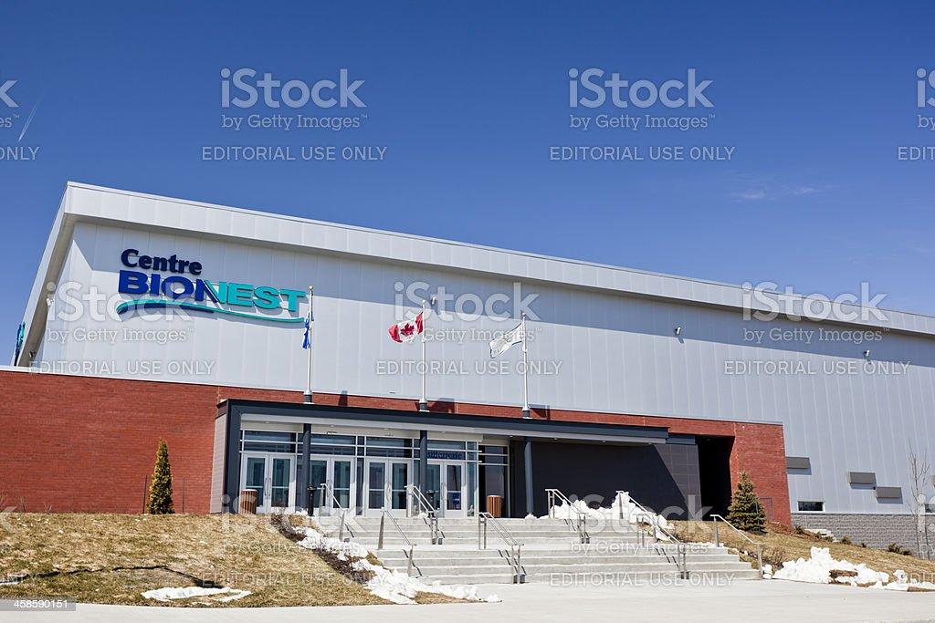 Centre Bionest stock photo