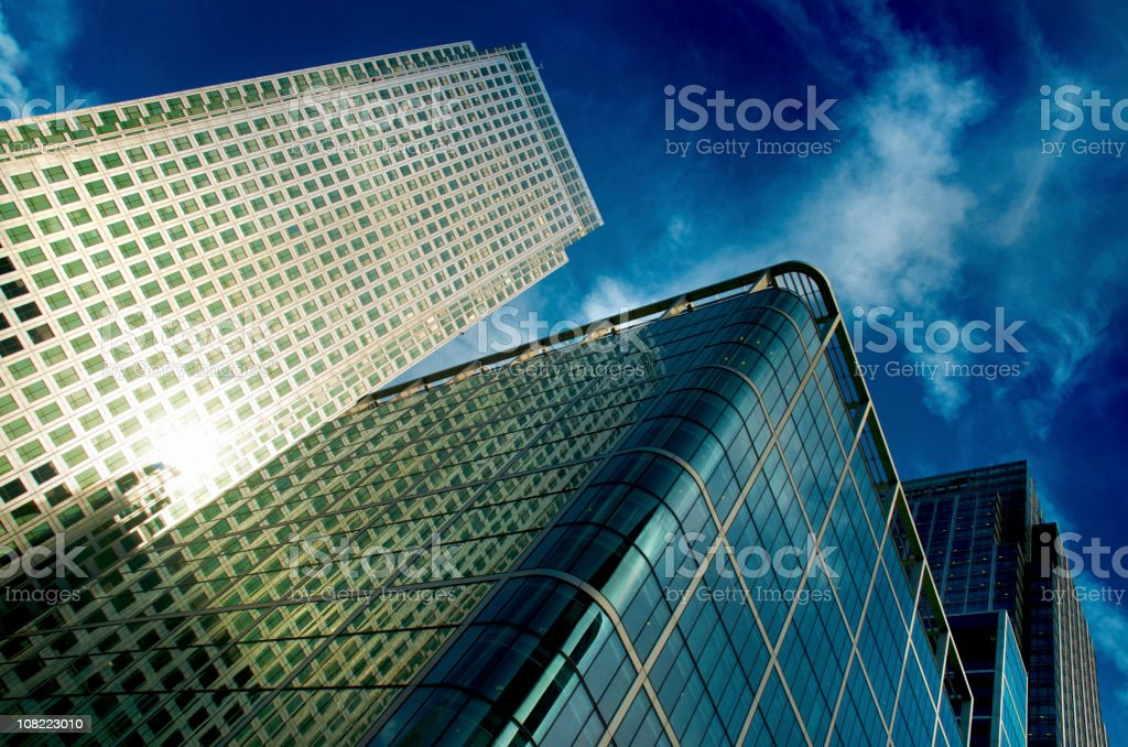 Centre of Business & Commerce royalty-free stock photo