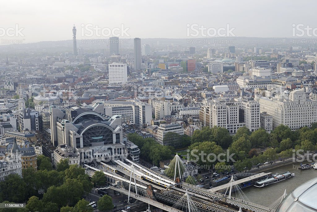 Centre of London. England stock photo