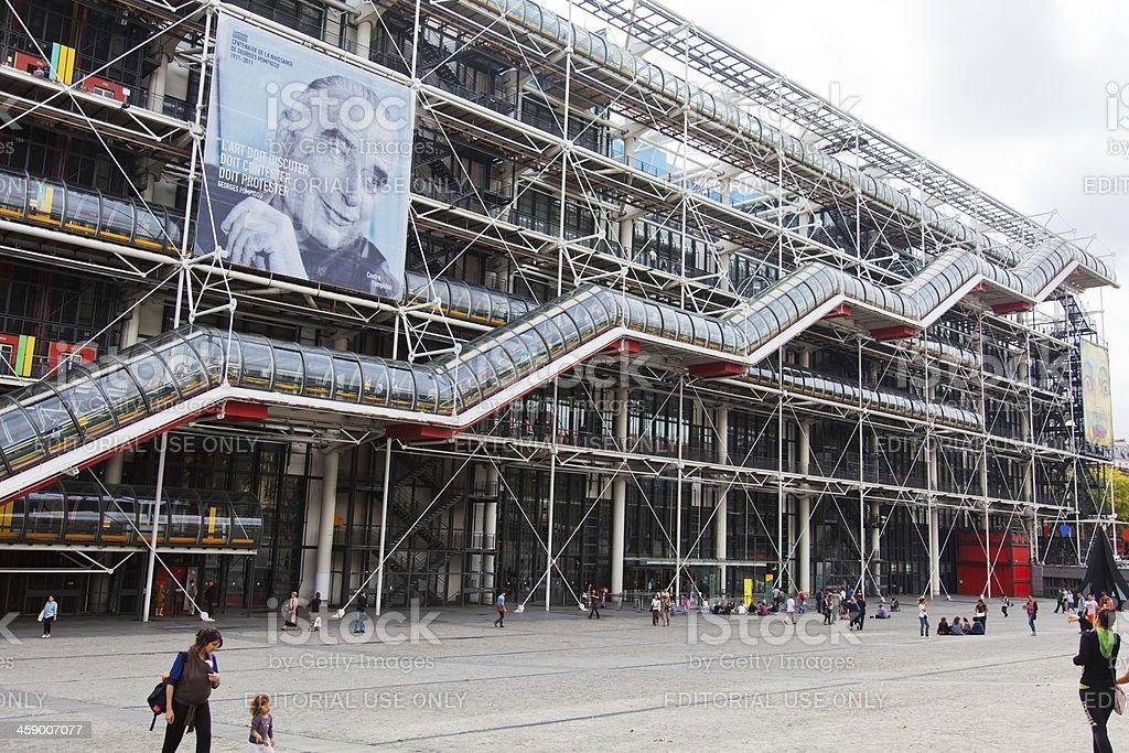 Centre Pompidou, Paris royalty-free stock photo