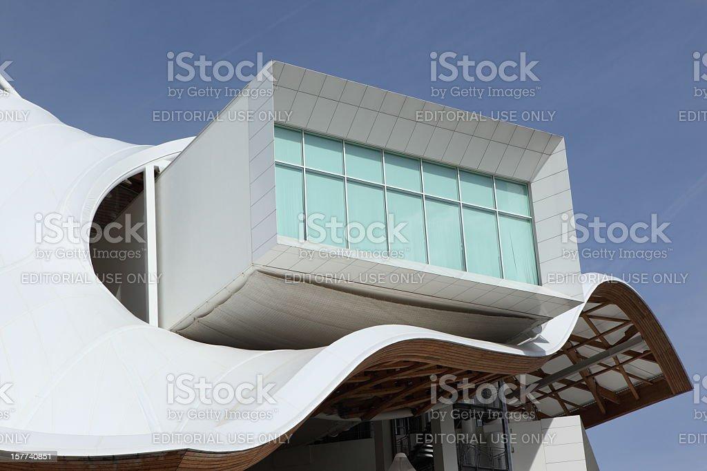 Centre Pompidou-Metz stock photo