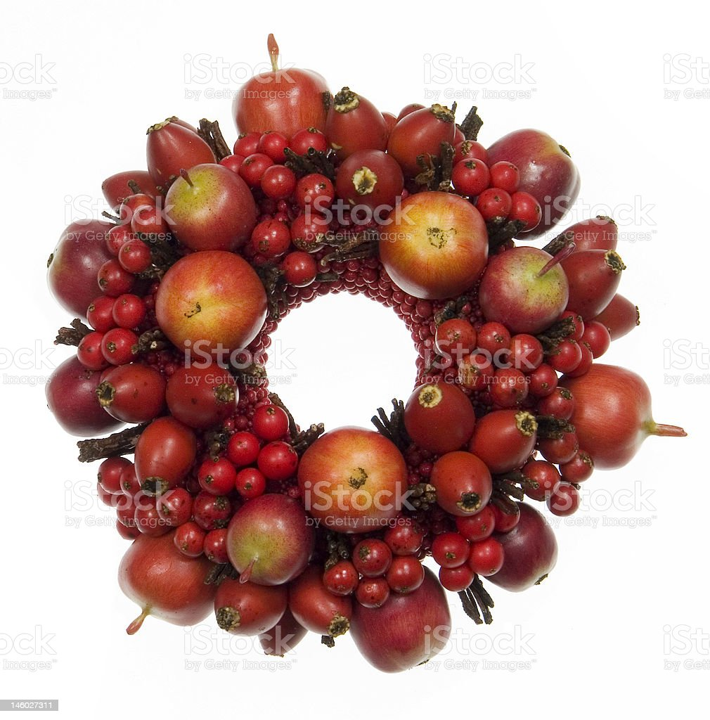 Centrepieces Christmas stock photo