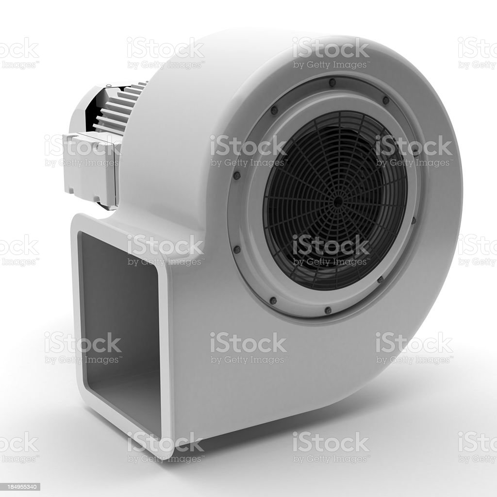 Centrifugal Fan royalty-free stock photo