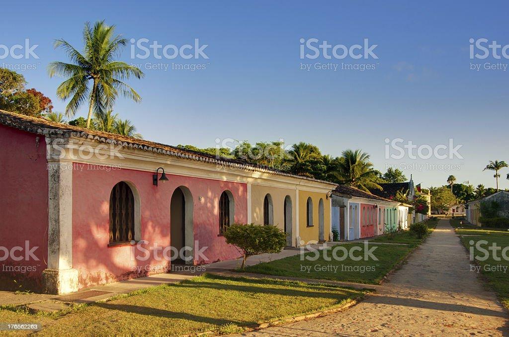 Centro Histórico Porto Seguro, Bahia, Brazil stock photo